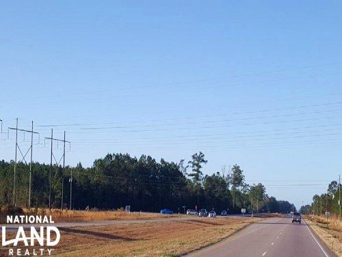 Highway 17 Commercial Land : Bolivia : Brunswick County : North Carolina