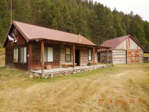 Lookin' Bear Lodge : Lima : Beaverhead County : Montana