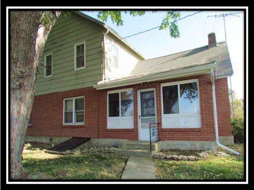 Older Farm House On Scioto River : Radnor : Delaware County : Ohio
