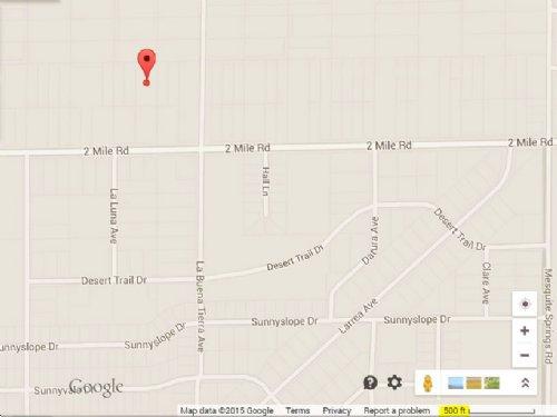 1.25 Acre Residential Lot : Twentynine Palms : San Bernardino County : California