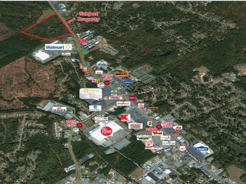 30 Acre Commercial Tract : Milledgeville : Baldwin County : Georgia