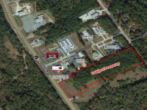 7 Acres On Hwy 441 : Milledgeville : Baldwin County : Georgia