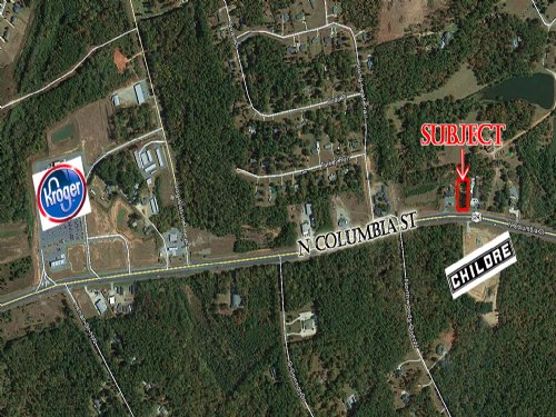 1.17 Acre Commercial Lot : Milledgeville : Baldwin County : Georgia