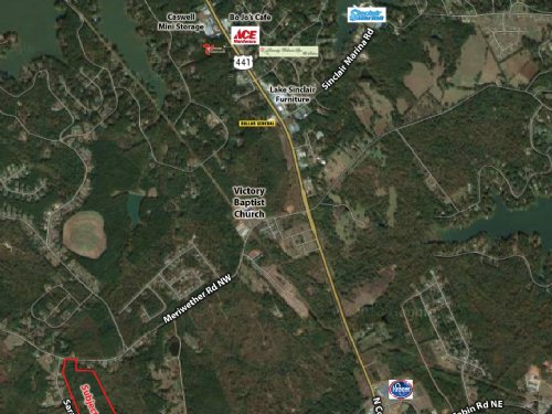 48 Acre Development Tract : Milledgeville : Baldwin County : Georgia