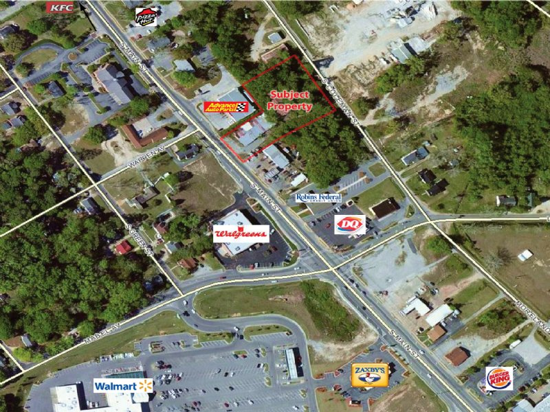 1.25 Acre Commercial Lot : Swainsboro : Emanuel County : Georgia