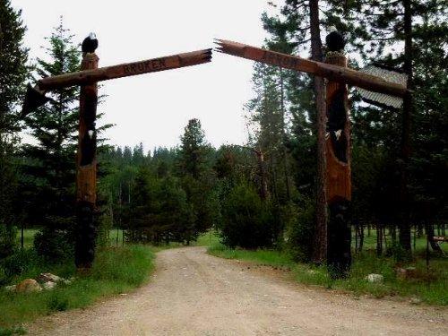 Broken Arrow Elk Ranch : Athol : Kootenai County : Idaho
