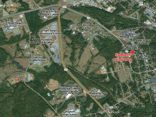 1 Acre Lot Next To Medical Center : Milledgeville : Baldwin County : Georgia
