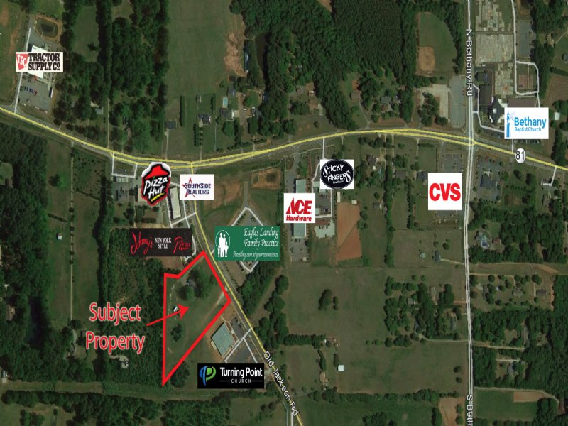 4 Acres On Old Jackson Rd : Land for Sale : McDonough ...
