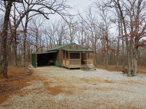 Reduced Cabin On 160+/- Acres : Witter : Madison County : Arkansas