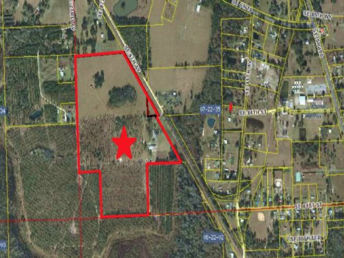 Ranch 68 Ac Home Pond 3 Barns H-321 : Starke : Bradford County : Florida