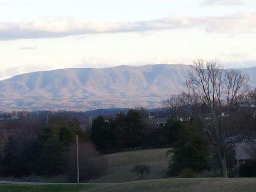 Smokey Mountain View Building Lot : Dandridge : Jefferson County : Tennessee
