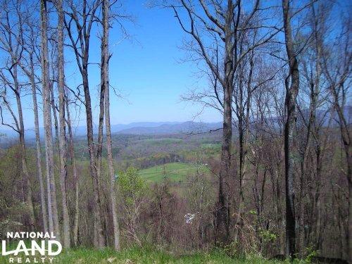 Elevated Homesite With Mountain Vie : Ellijay : Gilmer County : Georgia