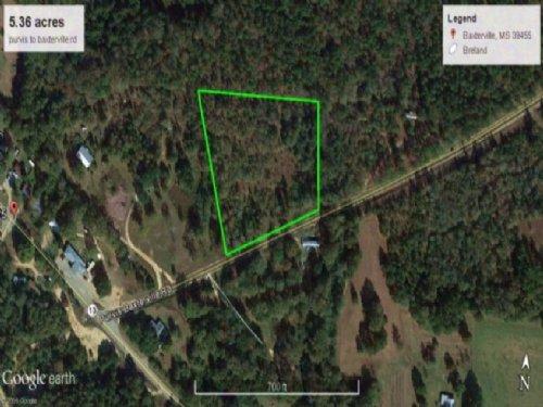 Development Property Land For Sale : Baxterville : Lamar County : Mississippi