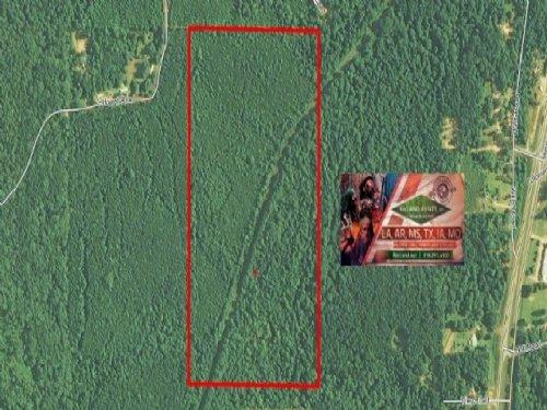 75 Ac - Mixed Timberland & Hunt : Pollock : Grant Parish : Louisiana