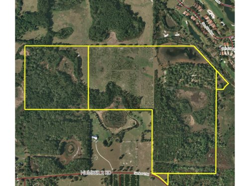 160Ac Residential Development Land : Howey In The Hills : Lake County : Florida