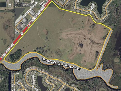 Prime Development Land : Kissimmee : Osceola County : Florida
