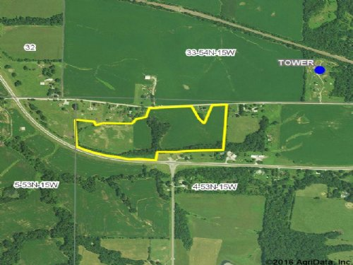 34 Acres, County Rd 1115 : Huntsville : Randolph County : Missouri