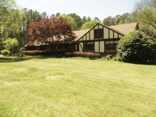 A Grand Home For Sale : Farmville : Cumberland County : Virginia