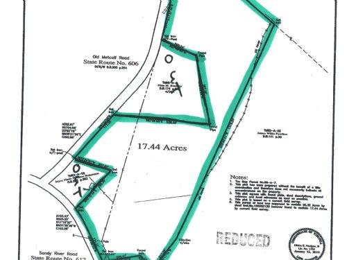 Sandy River Road : Farmville : Prince Edward County : Virginia