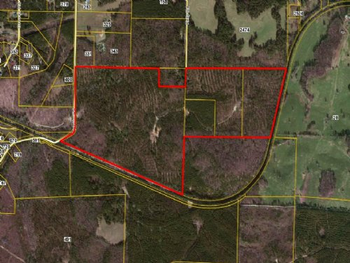 184 Acres Hutto Road : Cedartown : Polk County : Georgia