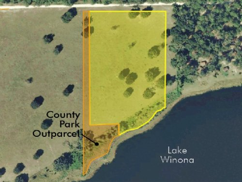 Winona Ranch 8.05 Acres : De Leon Springs : Volusia County : Florida