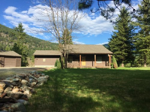 Island Park Retreat : Trout Creek : Sanders County : Montana