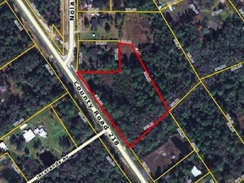 3.02 Acres Commercial Land C-131Cl : Middleburg : Clay County : Florida