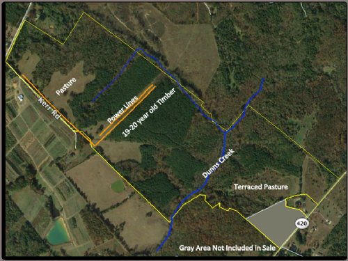 Dunns Creek Tract : Ware Shoals : Greenwood County : South Carolina