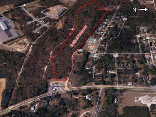 18.24 Acres For Sale : Aiken : South Carolina