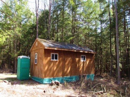 Cabin Near Schoharie Reservoir : Conesville : Schoharie County : New York