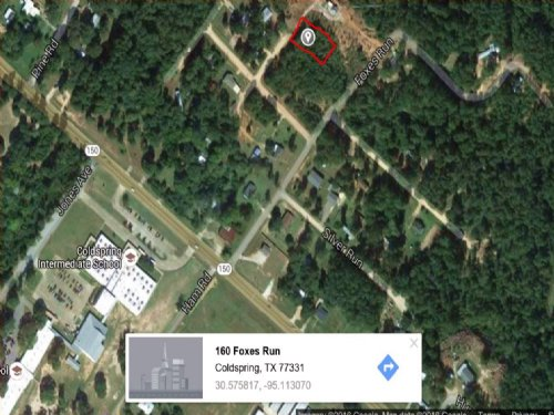 Residential Affordable Building Lot : Coldspring : San Jacinto County : Texas
