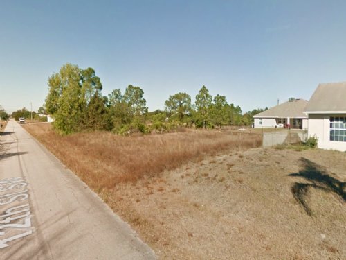 Residential 0.25 Acre : Lehigh Acres : Lee County : Florida