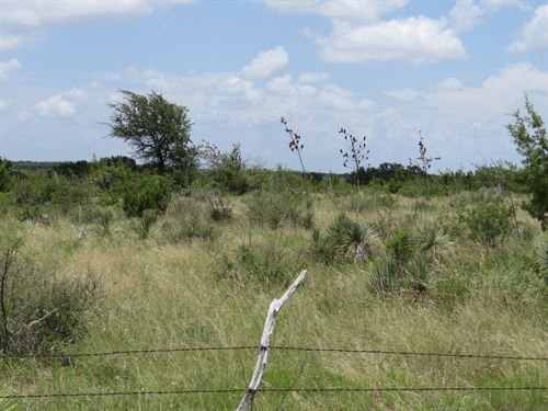 Acreage With Hwy Frontage : Eden : Concho County : Texas