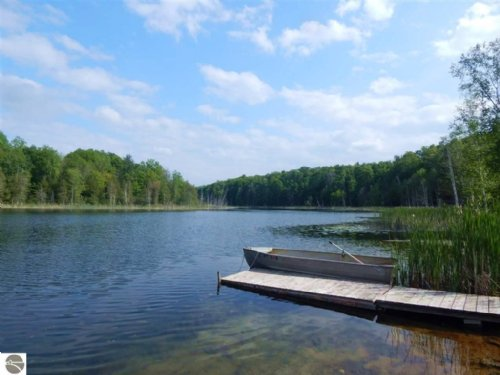 155 Acres With Private Lake : Lake Ann : Benzie County : Michigan