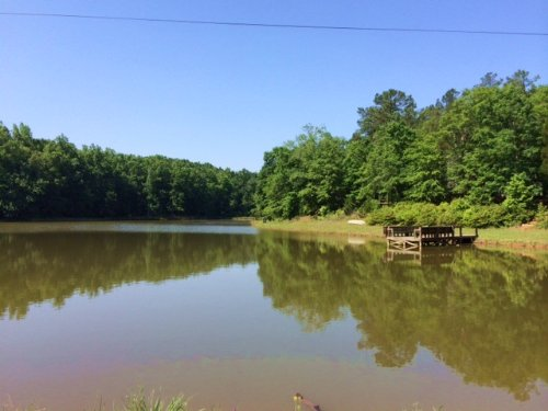 Beautiful 6 Acre Pond : Forsyth : Monroe County : Georgia