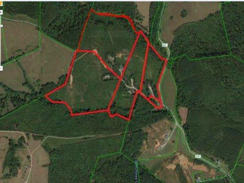 89 + Acres Of Land : Hurt : Pittsylvania County : Virginia