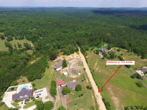 103 Acre Private Tract : Odenville : Saint Clair County : Alabama