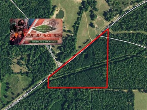 28.56 Ac - Timberland With Pond : Mount Enterprise : Rusk County : Texas