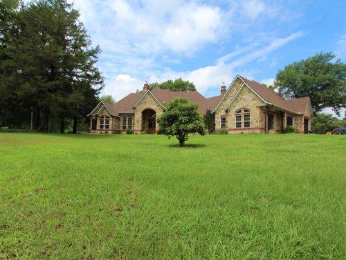 Beautiful Country Estate : Mount Pleasant : Fannin County : Texas