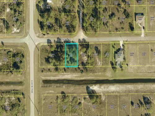 Lot Available At A Huge Discount : Lehigh Acres : Lee County : Florida