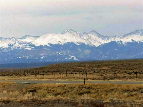 Own This 5 Acre Mountain Paradise : Fort Garland : Costilla County : Colorado