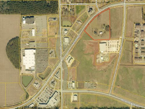 10 Acre Commercial Lot : Warner Robins : Houston County : Georgia