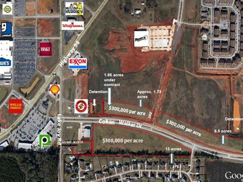 Commercial Property Available : Warner Robins : Houston County : Georgia