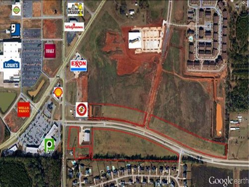 1.29 Acre Commercial Lot : Warner Robins : Houston County : Georgia