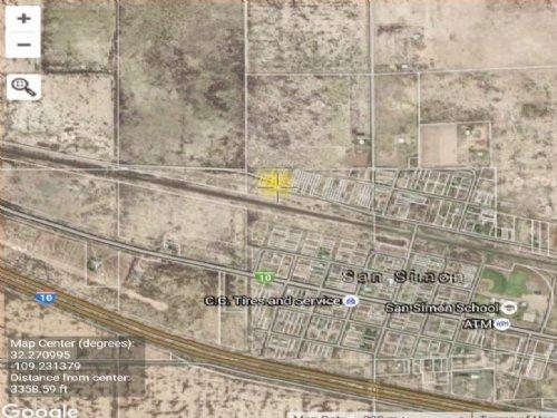 Single Affordable Lot : San Simon : Cochise County : Arizona