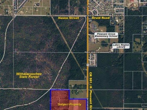 Inverness 141 Acres Res Pud : Inverness : Citrus County : Florida