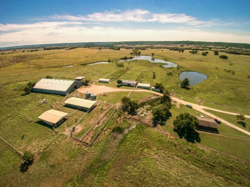 1960 Ac Scenic Central Texas Ranch : Cranfills Gap : Hamilton County : Texas