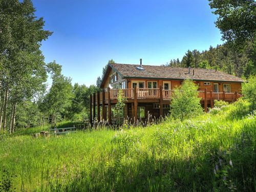 235486 Mountain Lodge Style Home O : Salida : Chaffee County : Colorado