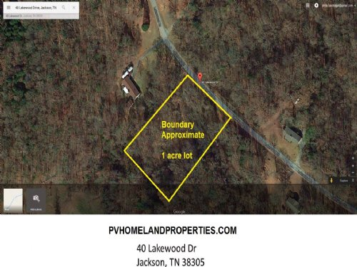 Only $99 Per Month For 0.30acre Lot : Jackson : Madison County : Tennessee