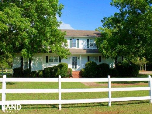 Montevallo Estate With Farmhouse : Montevallo : Shelby County : Alabama